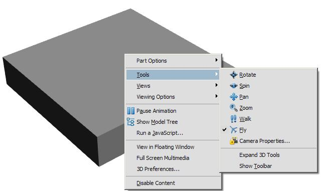 How to make a 3D PDF out of SolidWorks | Boxer's CAD CAM Blog