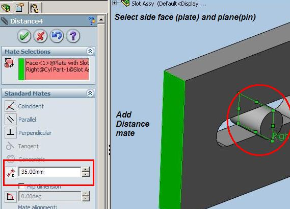 Different ways to Mate with a SLOT -1 | Boxer's CAD CAM Blog