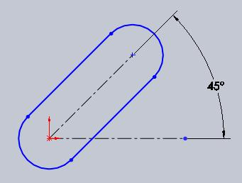how to make a line a construction line solidworks