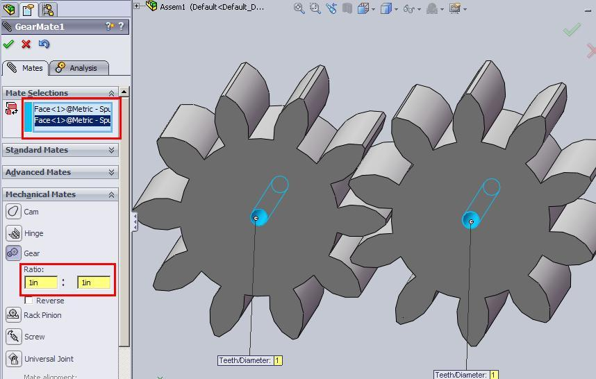 How to animate simple Spur Gear in SolidWorks | Boxer's CAD