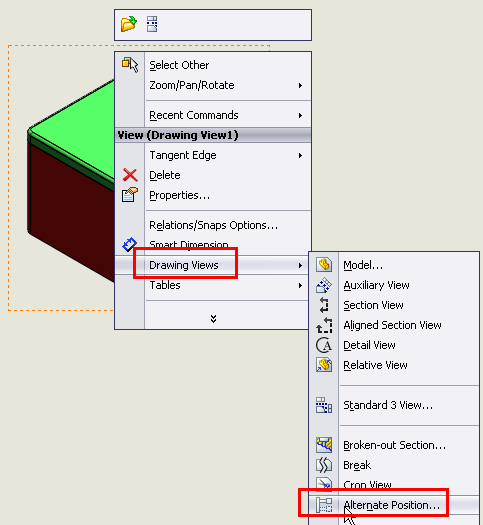 Alternate Position or Configuration in SolidWorks | Boxer's