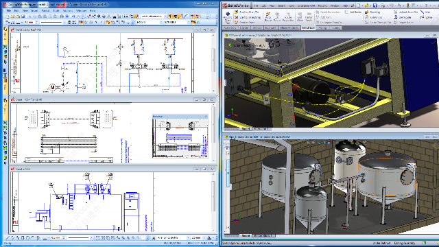 Wiring Diagram With Solidworks : Watch e³ wireworks in action at solidworks world boxer s