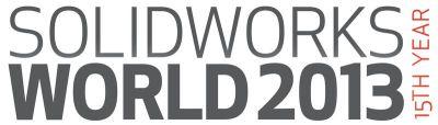 SolidWorks World 2013