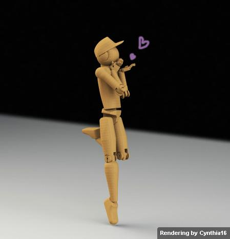 Poseable figure #1-1