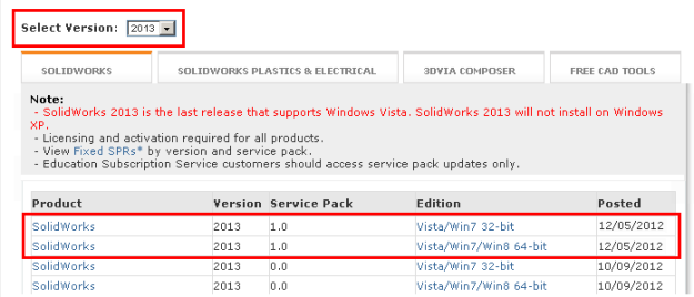 SolidWorks 2013 SP1 0 is available for download | Boxer's