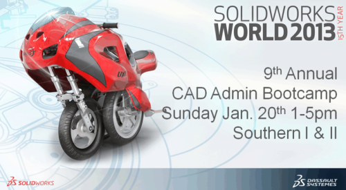 CAD Manager's Boot Camp SWW2013