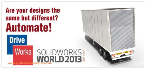 DriveWorks SWW2013