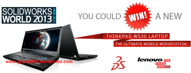 Register today to win a Lenovo® ThinkPad W530