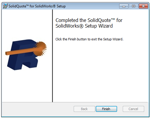 Installing SolidQuote