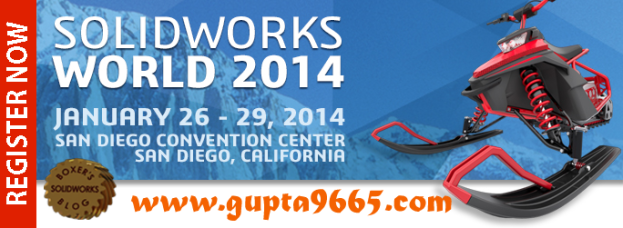 SolidWorks World 2014: Be there and Join Others