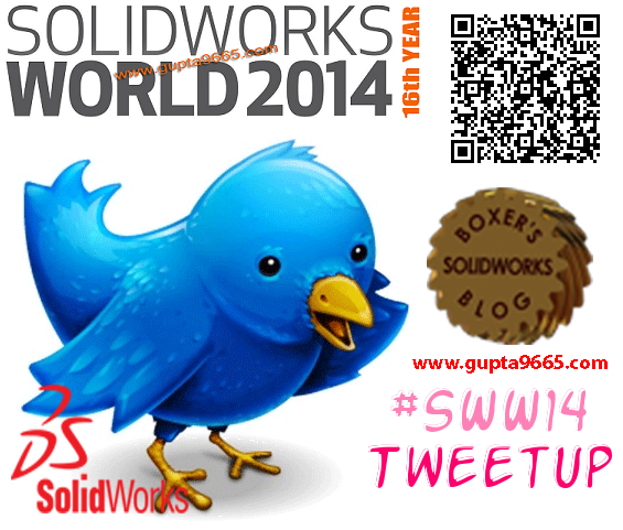 SolidWorks World 2014 TweetUp
