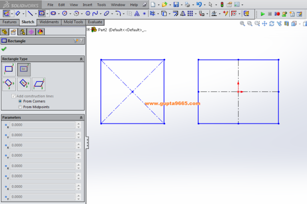 SW2015 Adding Centerlines to Rectangles