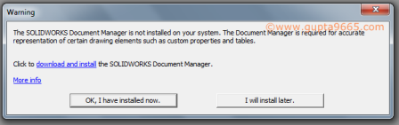 Fixing eDrawings SOLIDWORKS Document Manager Issue | Boxer's
